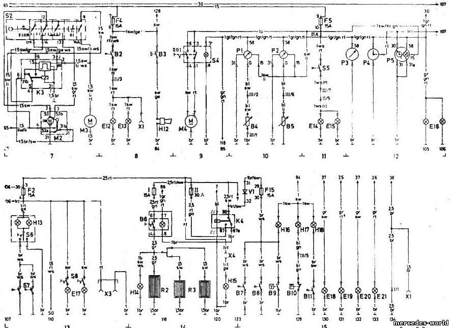 ОБОЗНАЧЕНИЕ ЭЛЕКТРИЧЕСКИХ СХЕМ (208 D - 410 D) Цвет проводов. дп зеленый. дг - серый. rs - розовый.