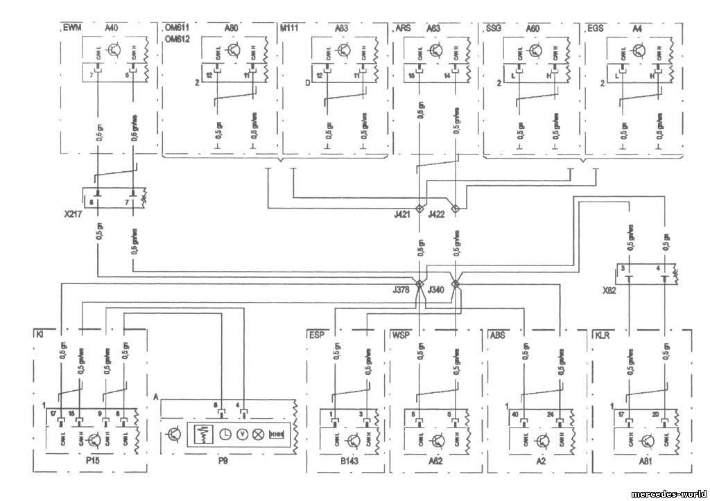 Схема электрооборудования шина
